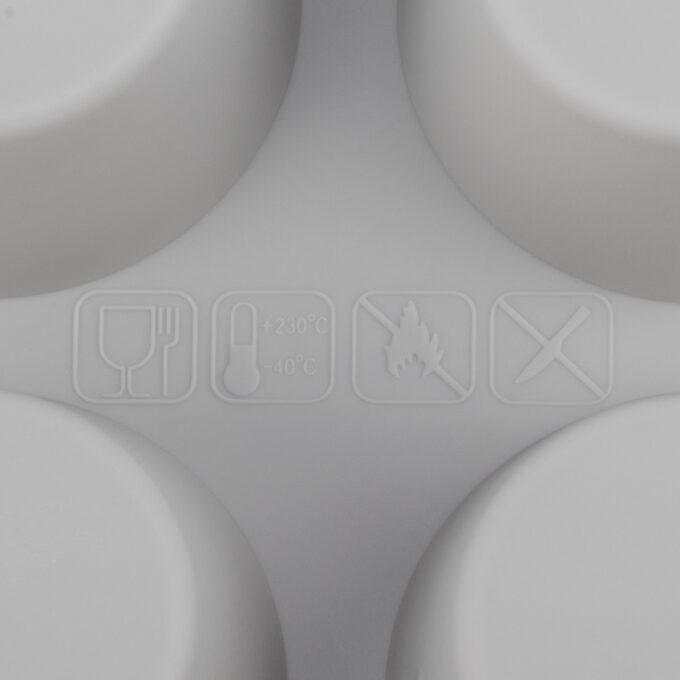 Qualitätssiegel 24er Flexi Muffinblech