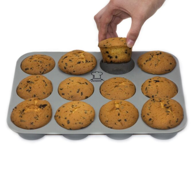 Muffinbackblech antihaftende Eigenschaft