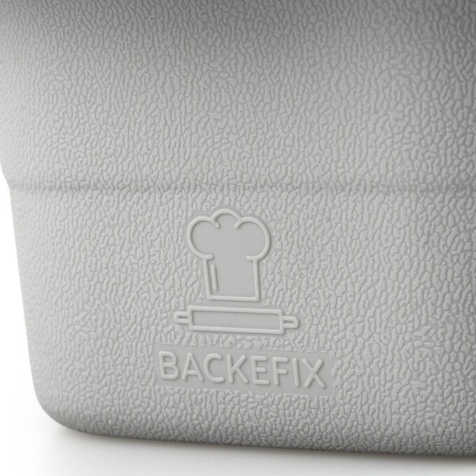 Nahaufnahme des Backefix Logos