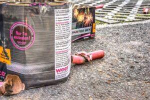 Gesundheitsschäden durch Feuerwerk und Feinstaub