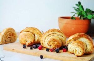 Fertige Croissants
