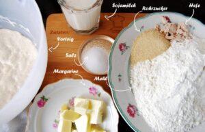 Zutaten für den Hauptteig