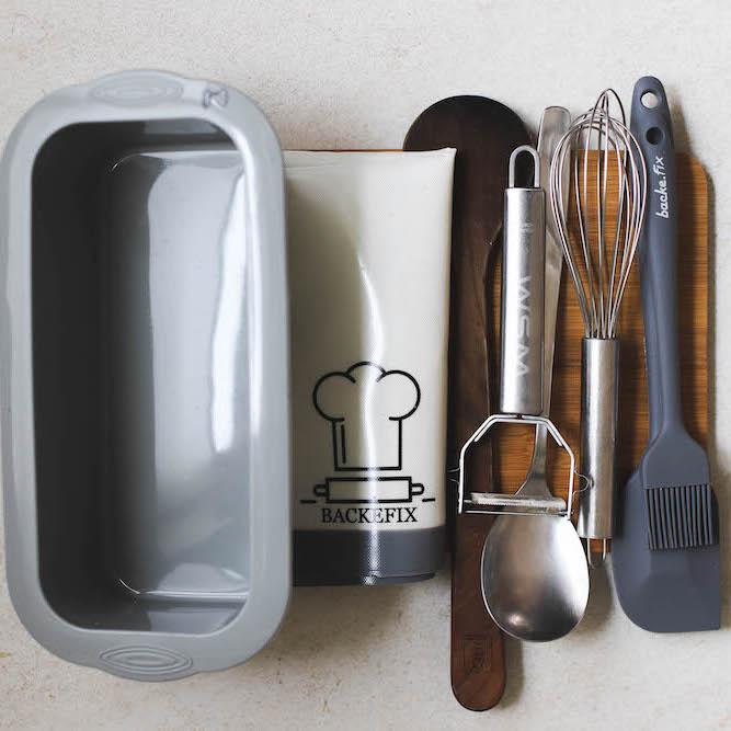 Plastik reduzieren durch wiederverwendbare Backutensilien und Küchenutensilien