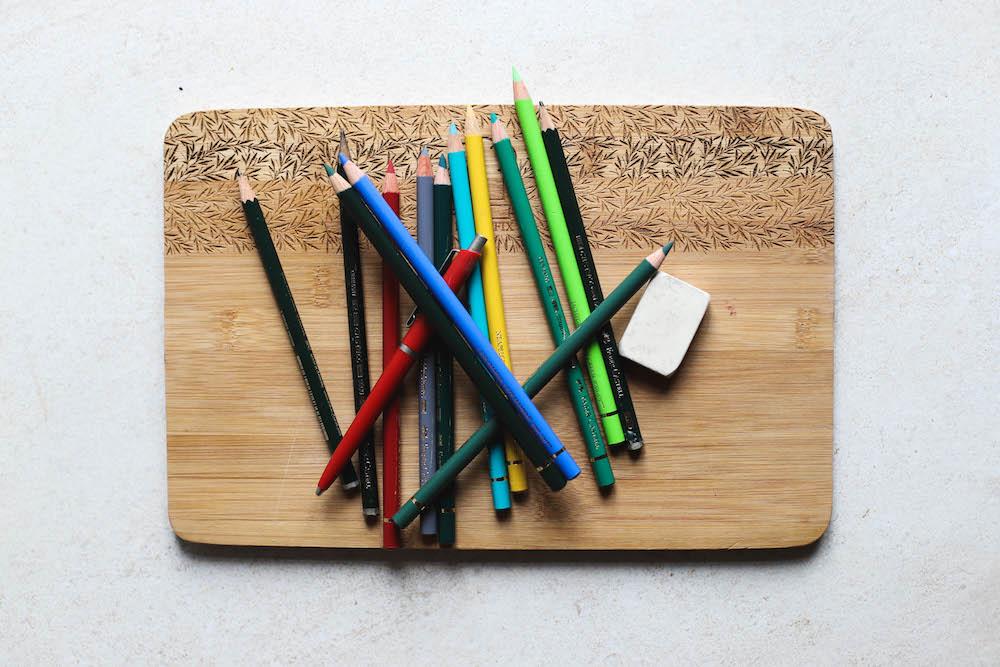 Bunte Holzstife Buntstife und Bleistifte