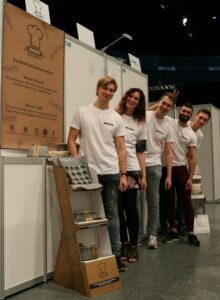 das Backefix Team auf der Start Up Con