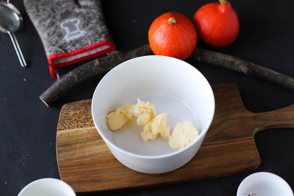Zutaten von veganen Schoko Cookies für Halloween