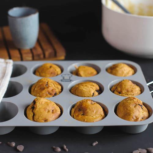 vegane Protein Pancakes in Muffinform von Backefix