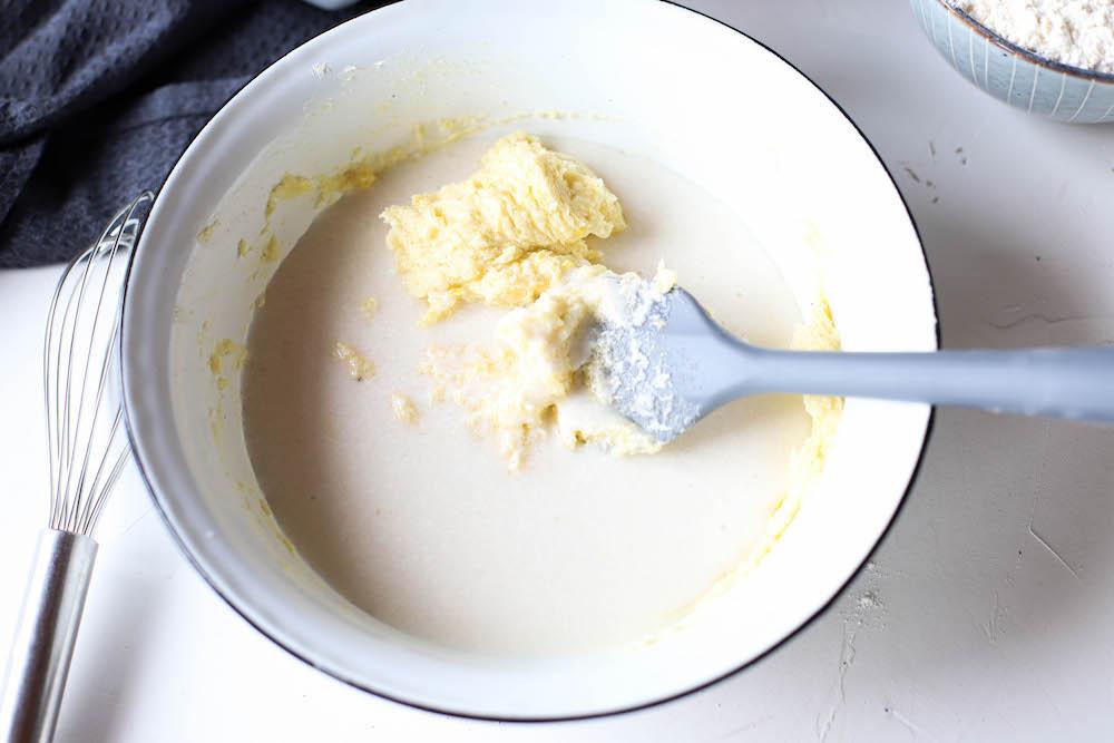 Zutaten für Blaubeer-Zitronen Gugelhupf