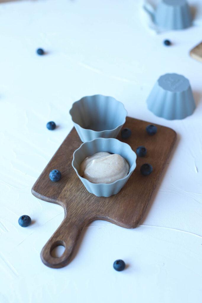 Veganes Eis aus Muffinförmchen von Backefix